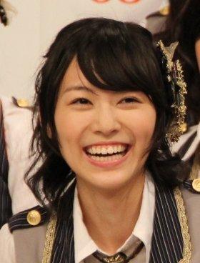 センターを勝ち取った松井珠理奈さん(12年11月撮影)