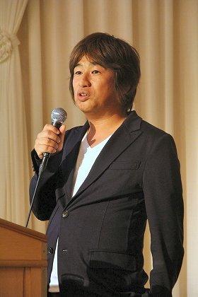 角川アスキー総研のシンポで講演した川上氏