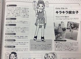 「キラキラ腐女子」とは何なのか(画像はメンズノンノ記事)