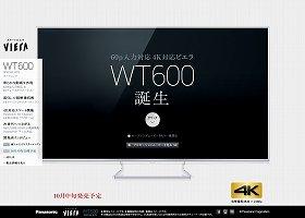 参入続々、「4Kテレビ」市場も値下げ競争が勃発か?(画像は、パナソニックのホームページ)