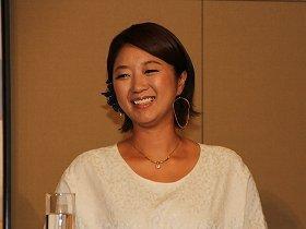 「フルボッコ」にされた美奈子さん(13年8月撮影)