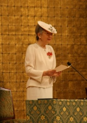 皇后陛下の「おことば」に感動が広がっている(2008年撮影)