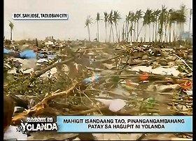 地元放送局が伝えた被災地の様子