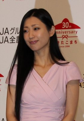壇蜜さん(13年9月撮影)