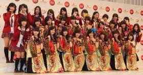 NMB48の初出場で48系列が3枠に(13年11月25日撮影)