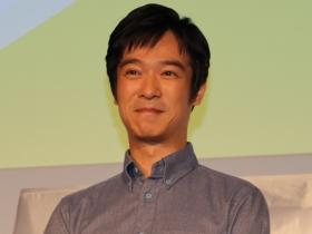 堺雅人さんは「倍返し」で受賞(13年10月撮影)
