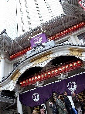29階建のタワーと一体化した新歌舞伎座