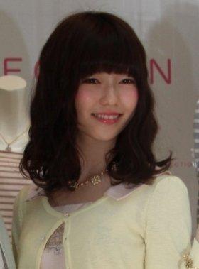 現役メンバーでトップの島崎さん(13年3月撮影)