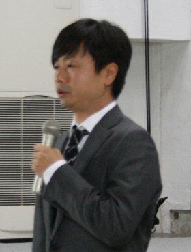 2012年5月、謝罪会見での河本さんの様子