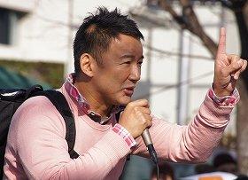 2013年、世間からの大注目を集めた山本太郎参院議員。さて、来年はどうなる?(12月撮影)