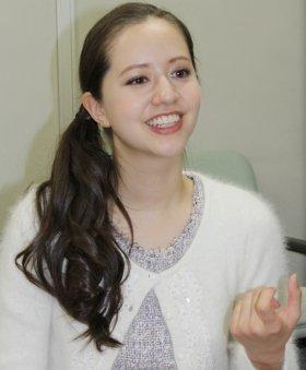 渦中にある春香クリスティーンさん(12年12月撮影)