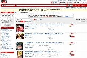 4月3日時点では鯨肉商品が多数販売されている(画像は楽天市場サイト)