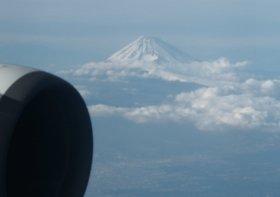 富士山上空では大きな歓声が上がっていた