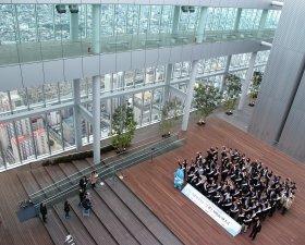 60階の展望台からは大阪府内が一望できる
