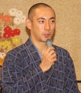 市川海老蔵さん(2013年12月撮影)