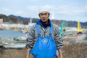 釜石の漁業発展を目指す君ヶ洞剛一さん(写真は本人提供)