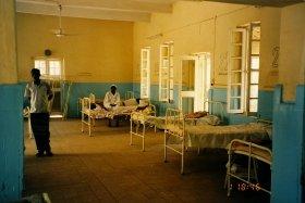 高い致死率の「エボラ出血熱」が、ギニアなどの西アフリカに広がっている。(勝田吉彰教授が撮影)