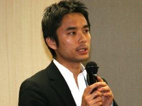 ライフネット生命の岩瀬社長ブログに賛否両論(09年5月撮影)