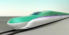 北海道新幹線に導入される「H5系」(JR北海道提供)