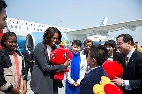 ミシェル夫人は2014年3月には中国で「ファーストレディ外交」を展開した(ホワイトハウスのウェブサイトより)
