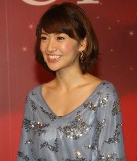 大島優子さんのコーナーもカット(11年11月撮影)