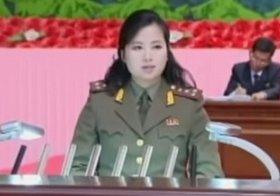 朝鮮中央テレビが玄松月氏のスピーチを放送し、健在が確認された