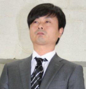 謝罪会見に臨む河本さん(12年5月撮影)