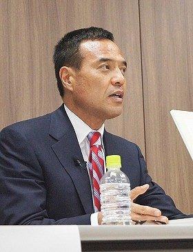 新浪氏がサントリー社長となれば創業一族以外で初(2012年撮影)