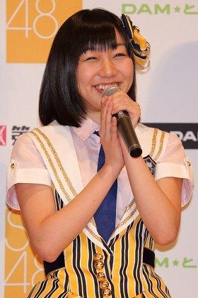 「カラオケは、行くなら一人で」と明かす須田亜香里さん。SKEの中では「W松井」に次ぐ人気だ