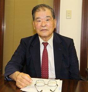 尖閣諸島の情勢について解説する川村純彦氏。「現状の警備体制、法体系では上陸を許してしまうことは十分あり得る」と話す