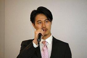 森田社長の決算発表での発言に注目(2014年2月撮影)