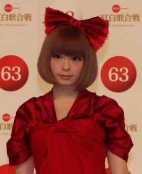 きゃりーぱみゅぱみゅさん(12年11月撮影)