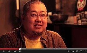 北島さんが登場したGoogleの「こだわり人のプレイス動画」からキャプチャ