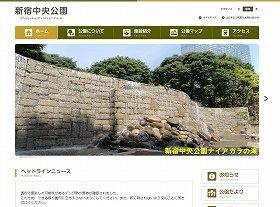 新たに感染者が確認された新宿中央公園