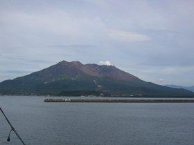 桜島の噴火警戒レベルは3(入山規制)に設定されている