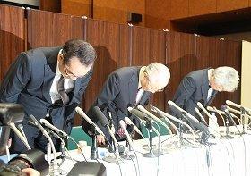 朝日新聞は9月11日の会見で「吉田調書」報道の初報を取り消すことを発表した