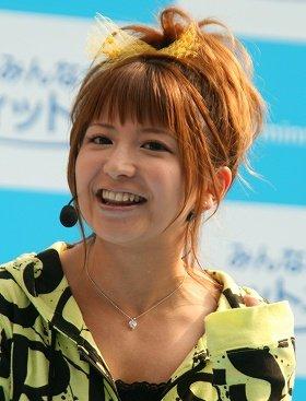 「ミヤネ屋」での復帰報道があった矢口真里さん(2008年4月撮影)