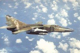 ミグ23は旧ソ連が開発し、イラン・イラク戦争や湾岸戦争でも実戦に投入された