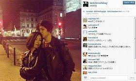 中山美穂の「噂の新恋人」が写真公開 パリで撮影?ラブラブ2ショット