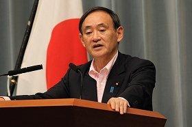 菅官房長官は「河野談話は安倍内閣でも継承」と繰り返し明言している