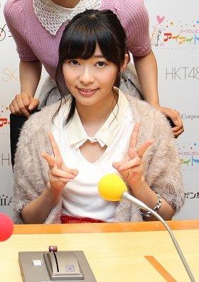 ラジオ番組で思わず挑発に乗ってしまったHKT48の指原莉乃さん