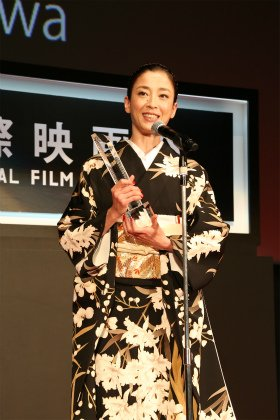 東京国際映画祭が閉幕 最優秀女優賞に宮沢りえさん