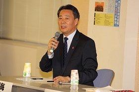 民主党の海江田代表は「UFOの存在を信じている」らしい...
