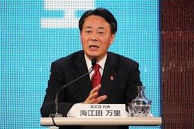 党首討論での海江田氏の「独自路線」が際立っている