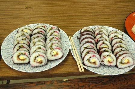 シソ巻お寿司