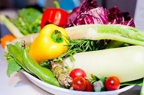 野菜や果物を積極的に摂る
