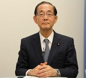 J-CASTのネット番組「テラポリ」に出演した原田議員。尖閣問題解決による日中関係の正常化は、両国のみならず国際社会全体に必要なことだと力説した