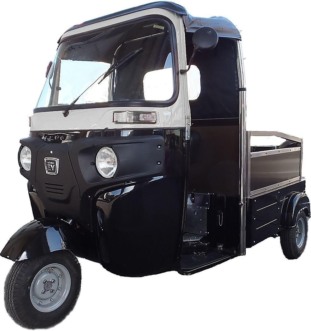 日本で16番目の車メーカー誕生 昔懐かしいオート三輪そっくりのEV車製造