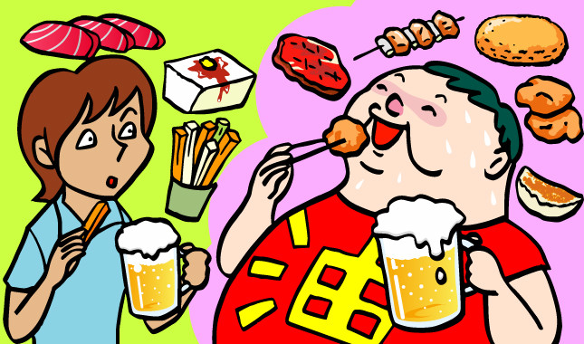 ビールを飲むと、ビールっ腹になるってホント?