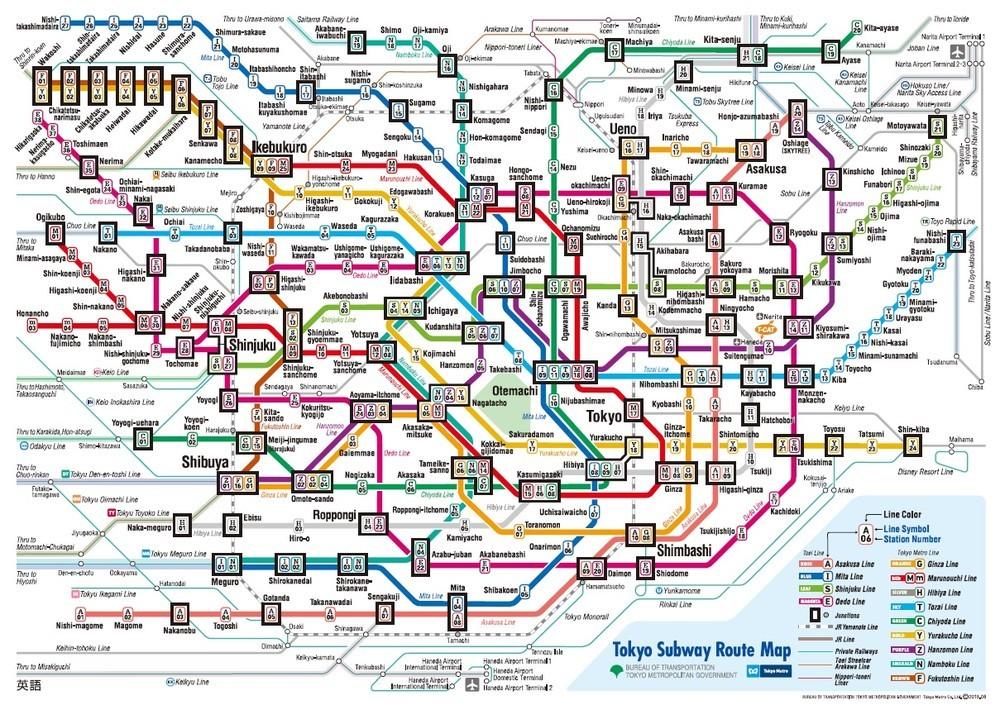 外国人観光客「東京の地下鉄はラビリンス」 複雑な路線図、ややこしい表記で迷子に